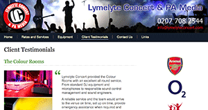 Lymelyte Concert and PA Media